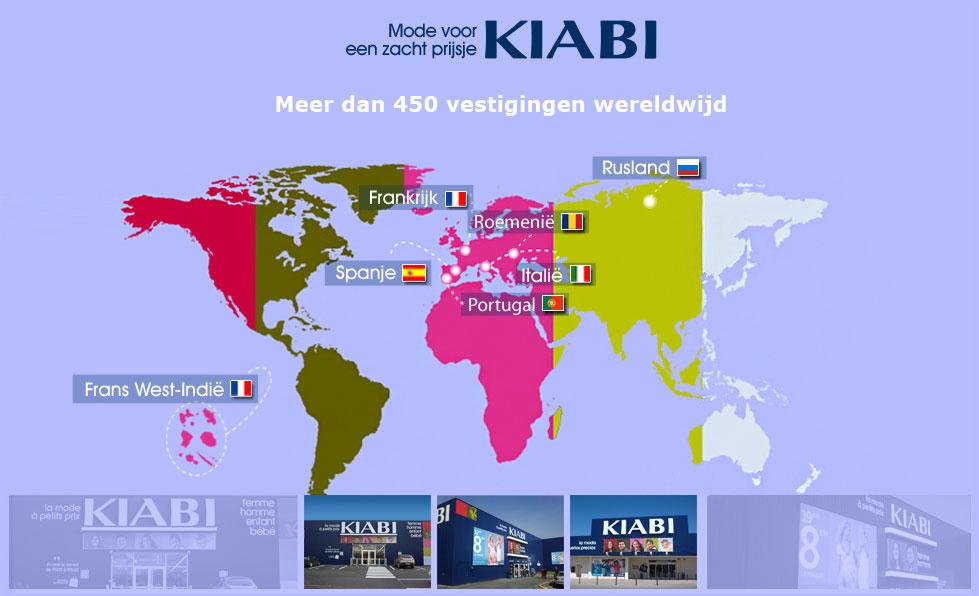 Onze winkels - Onze diensten - Kiabi